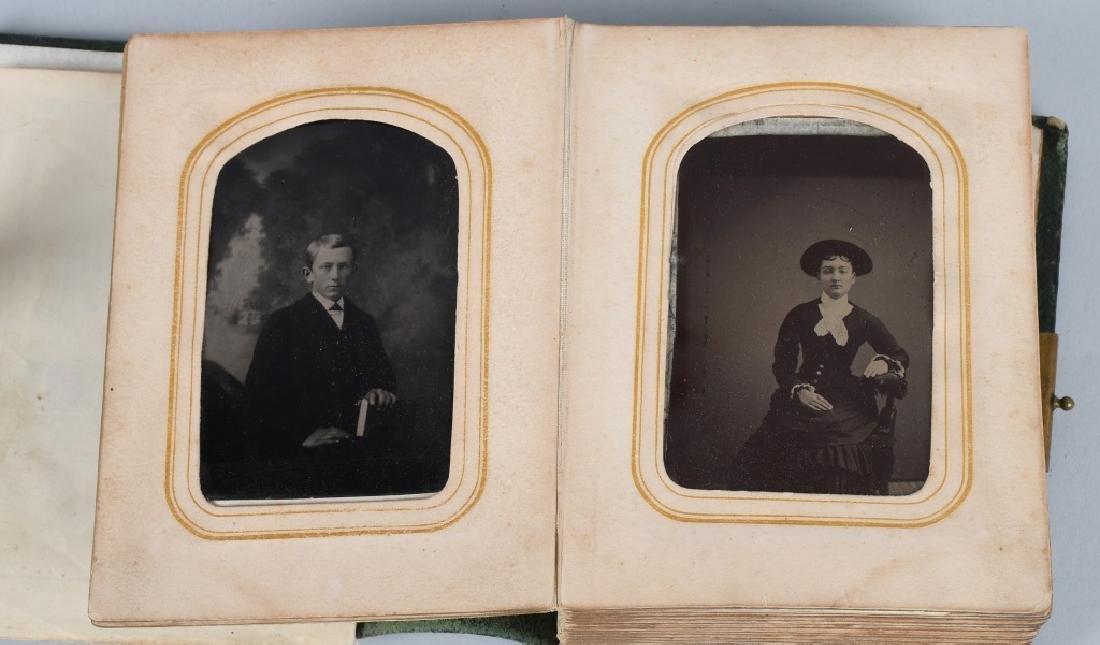 19th CENT. PHOTO ALBUM, TINTYPES & CDV's - 2