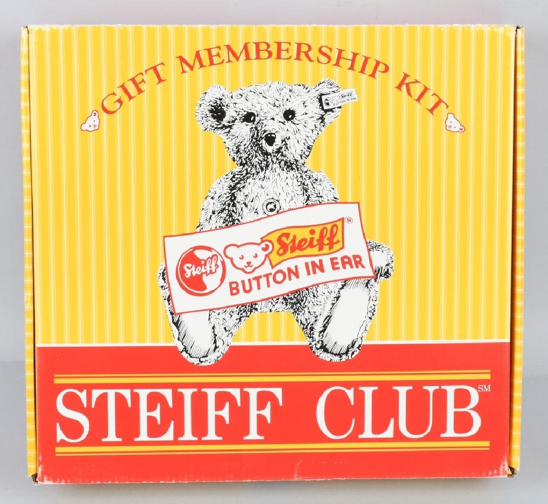 1998 STEIFF CLUB KIT w/ BEAR & MORE