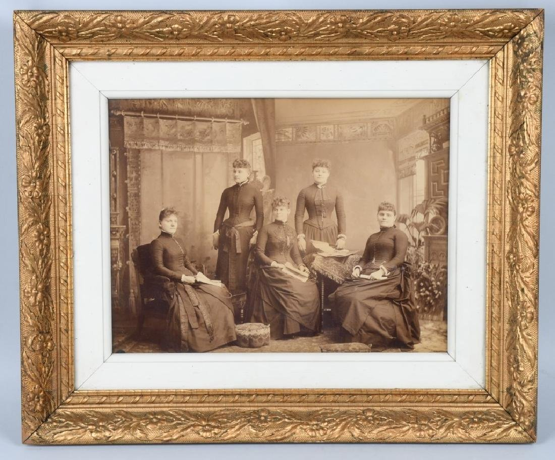 1800s 5 SISTERS ALBUMEN ALBUMEN PICTURE
