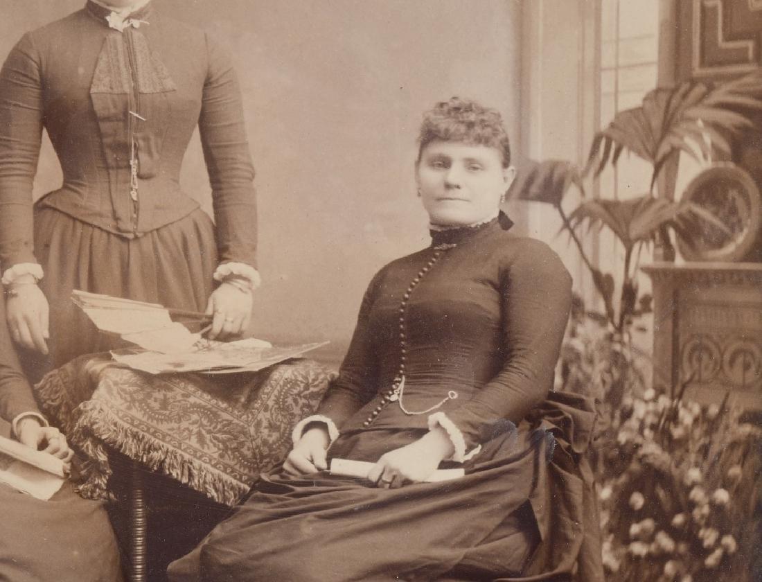 1800s 5 SISTERS ALBUMEN ALBUMEN PICTURE - 4