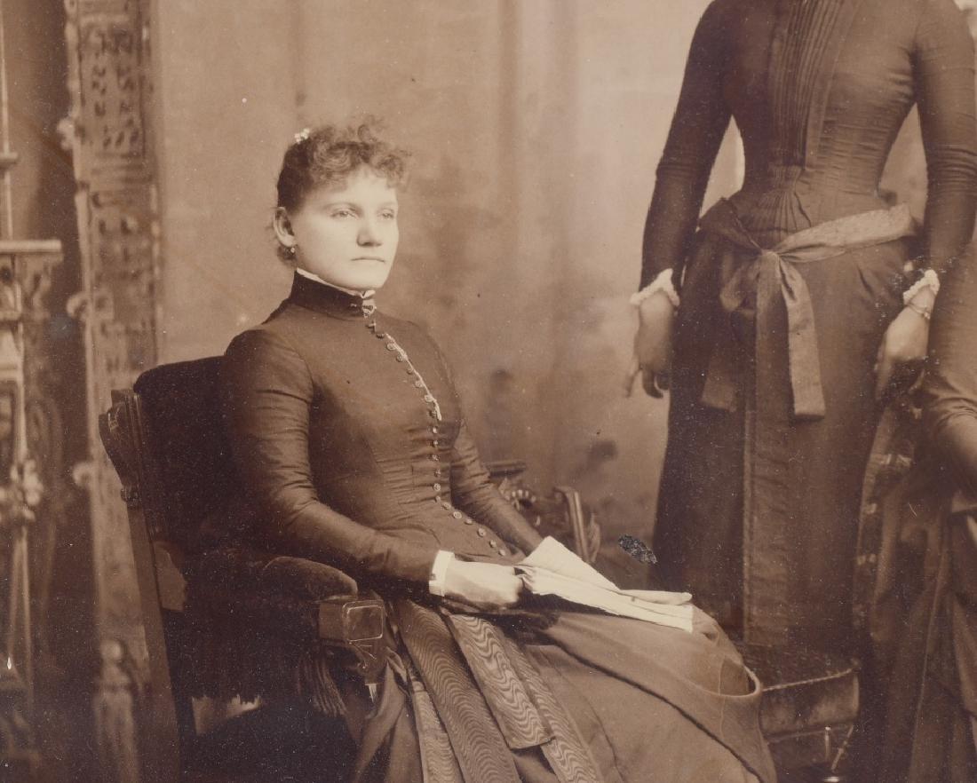 1800s 5 SISTERS ALBUMEN ALBUMEN PICTURE - 5