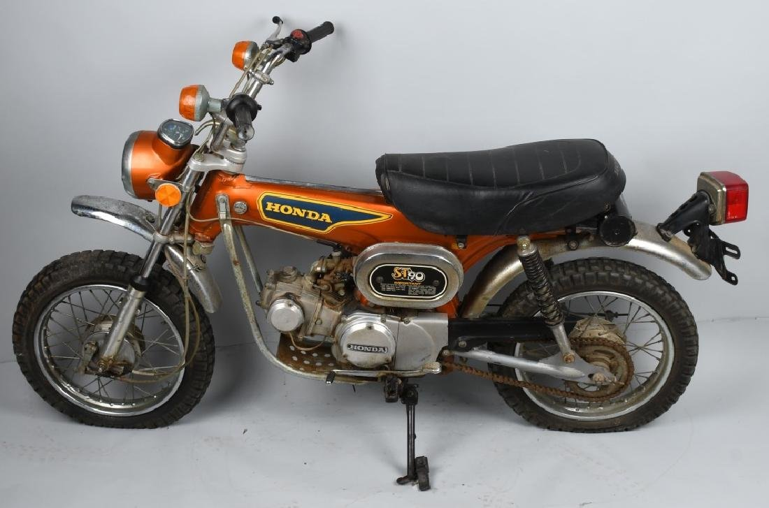 1975 HONDA ST 90 TRAIL MOTORCYCLE
