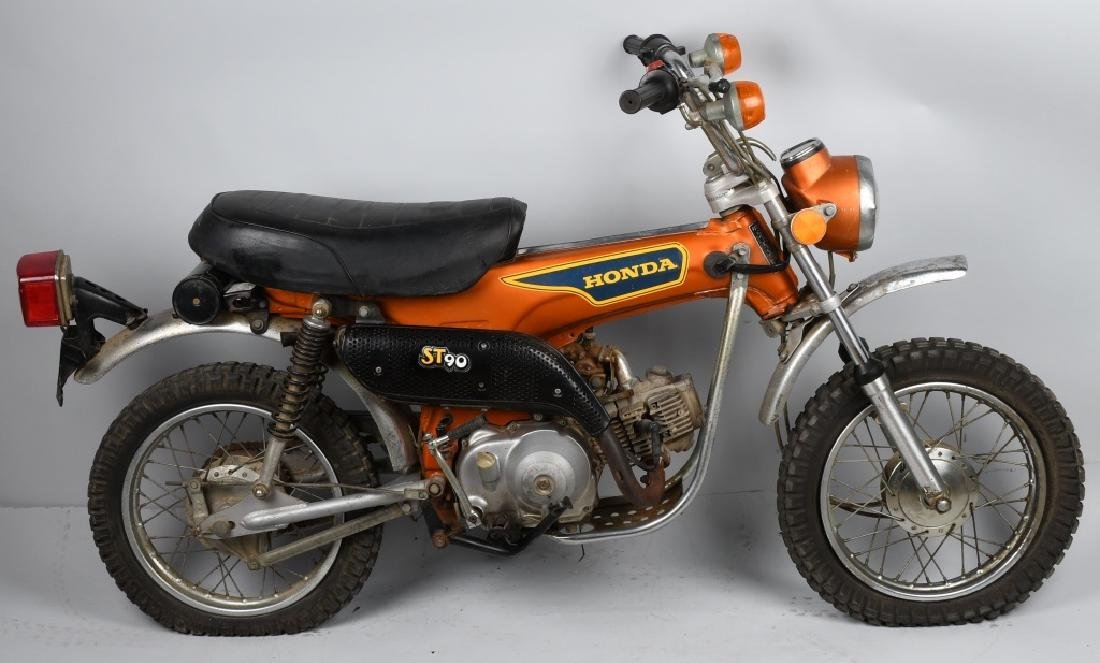 1975 HONDA ST 90 TRAIL MOTORCYCLE - 6
