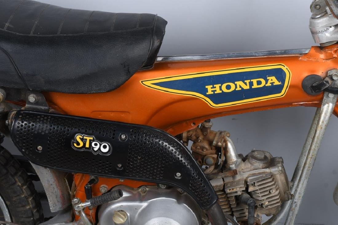 1975 HONDA ST 90 TRAIL MOTORCYCLE - 7