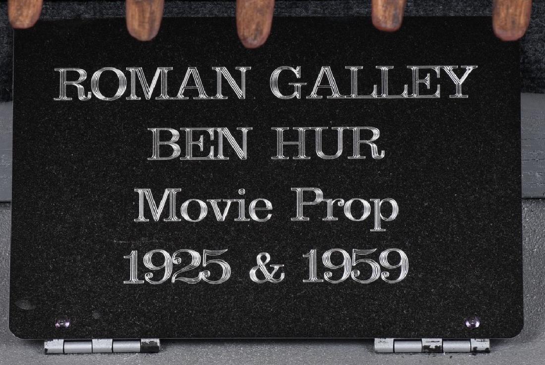 6' 1925 BEN HUR MOVIE PROP SCREED USED SHIP - 2