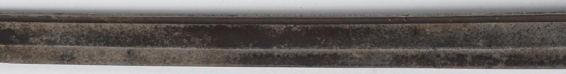 19th CENT. BRASS HILT SHORT SWORD - 4