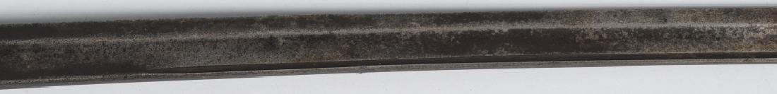19th CENT. BRASS HILT SHORT SWORD - 7
