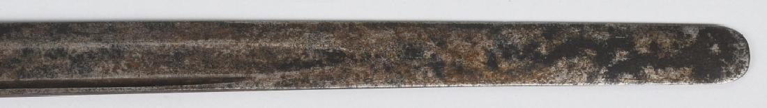19th CENT. BRASS HILT SHORT SWORD - 8