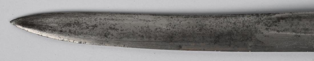 19th CENT. BRASS HILT SHORT SWORD - 5