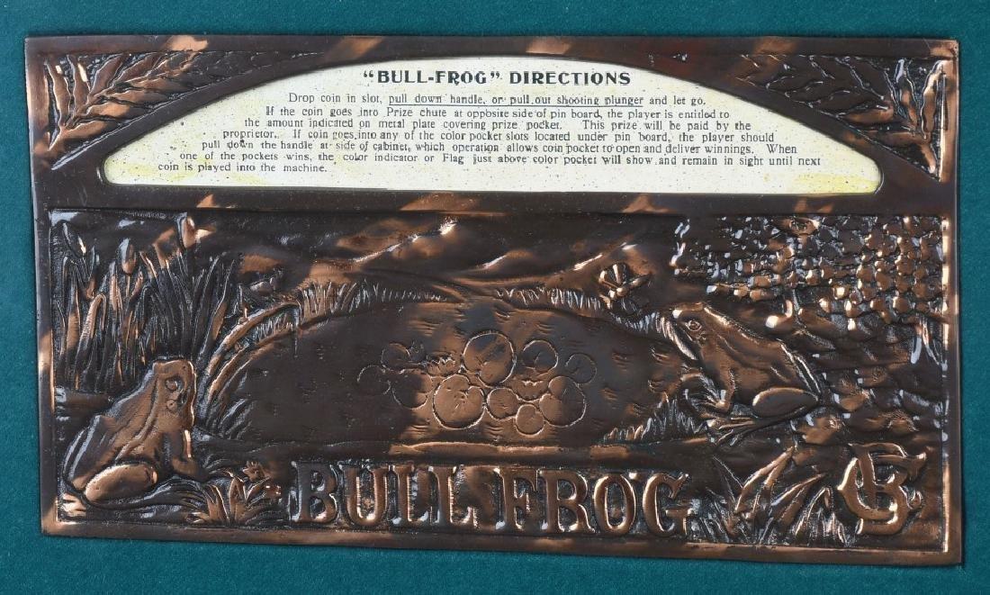 5c CAILLE BULLFROG SLOT MACHINE - 11