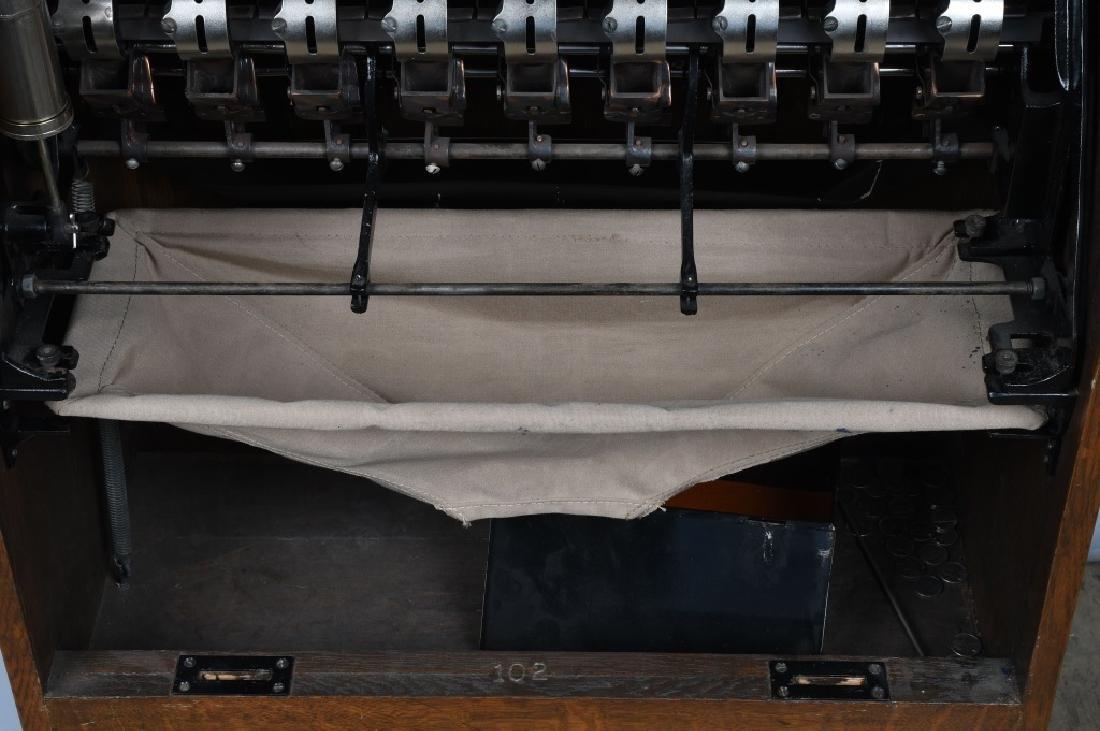 5c CAILLE BULLFROG SLOT MACHINE - 17