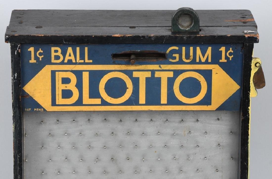 1c BLOTTO GUMBALL MACHINE TRADE STIMULATOR - 2