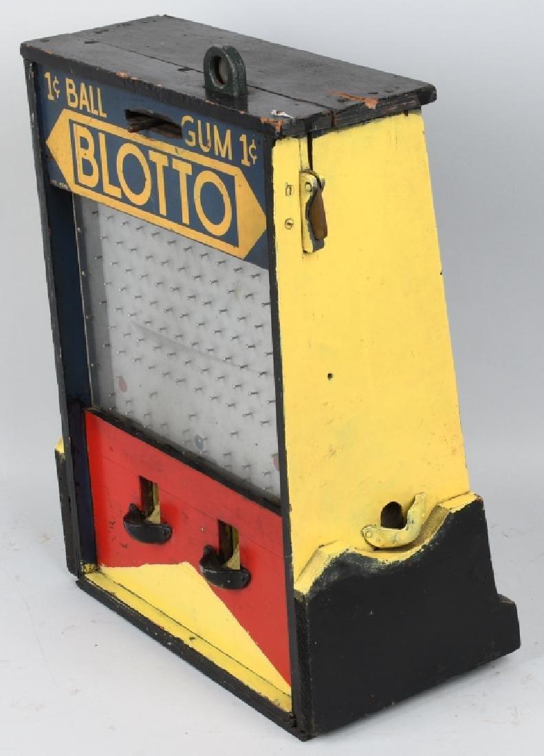 1c BLOTTO GUMBALL MACHINE TRADE STIMULATOR - 4