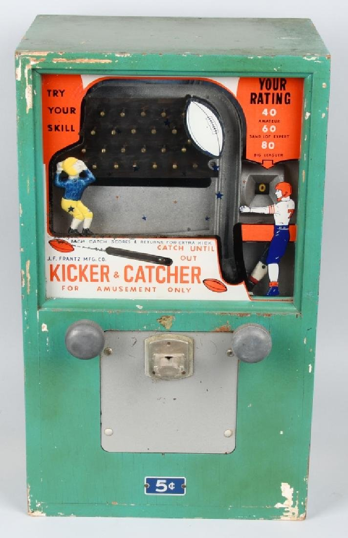 5c JF FRANTZ KICKER CATCHER FOOTBALL SKILL GAME