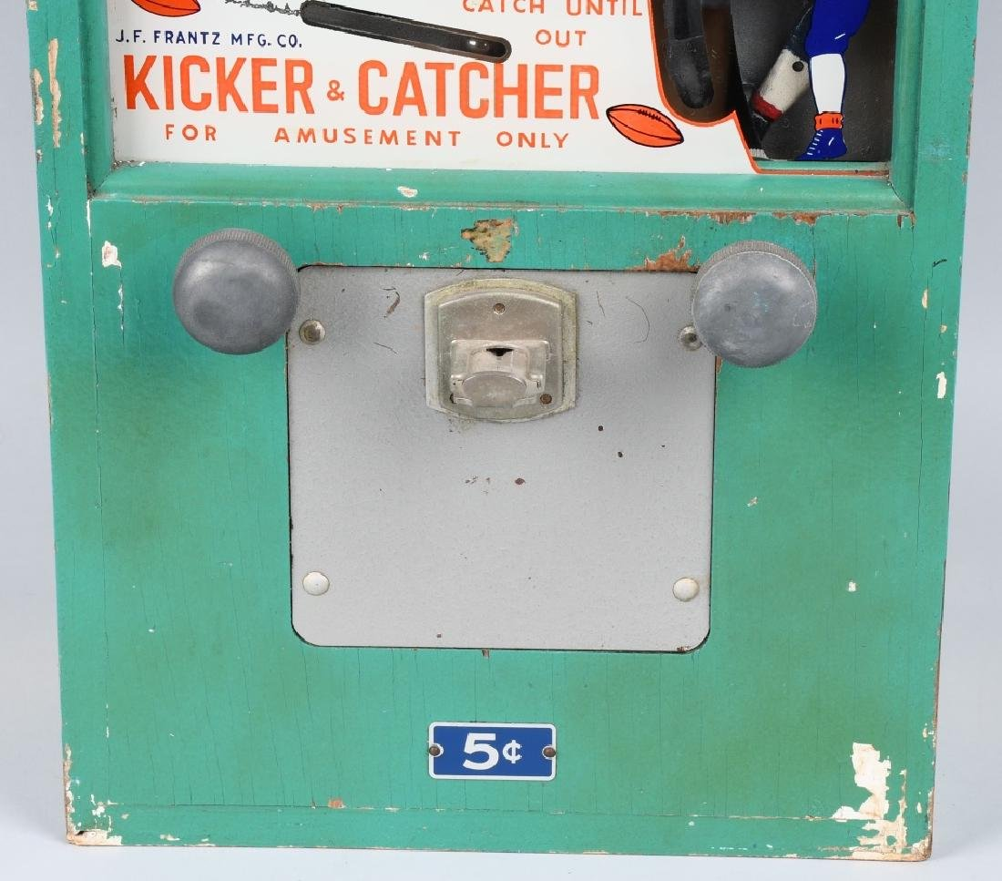5c JF FRANTZ KICKER CATCHER FOOTBALL SKILL GAME - 3