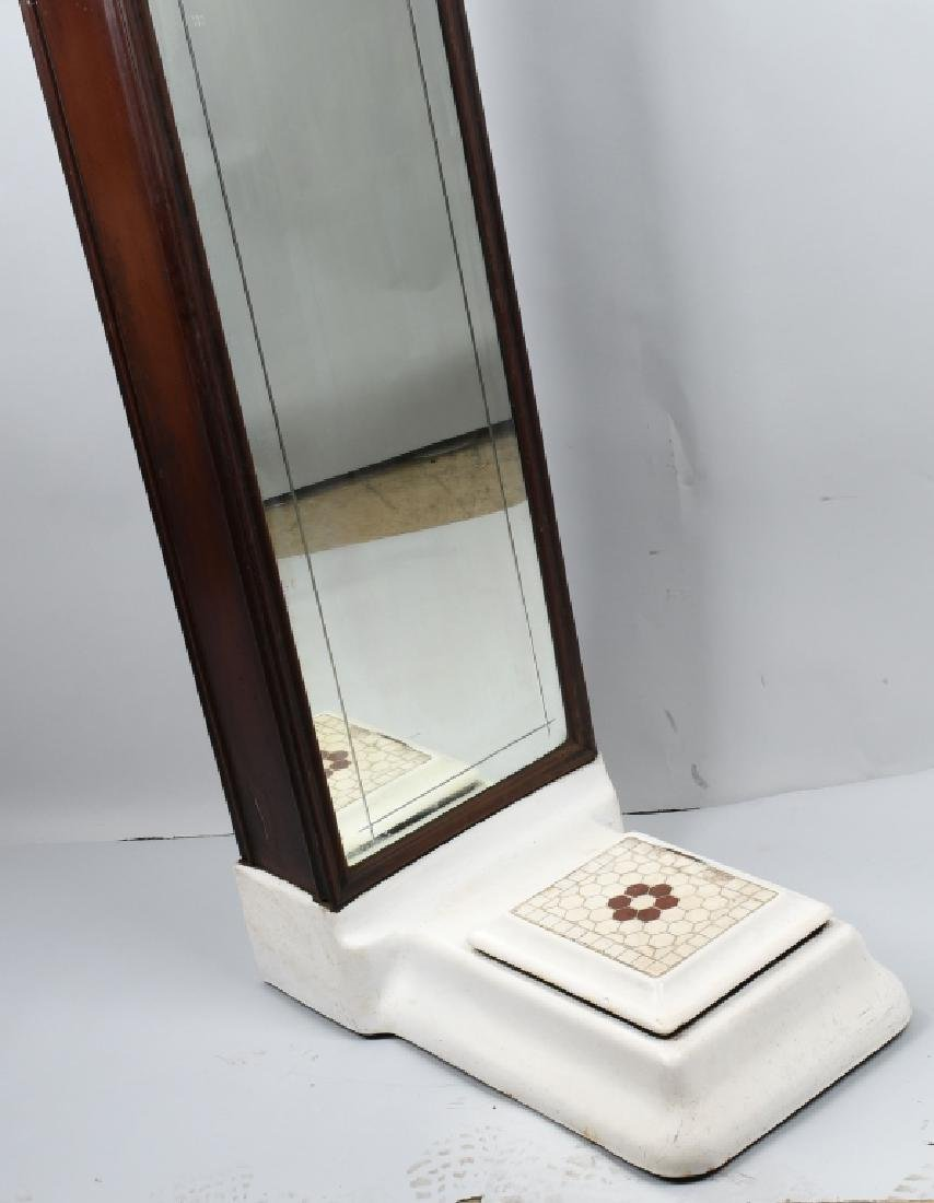 1c COLUMBIA WEIGHING MACHINE PENNY SCALE - 3