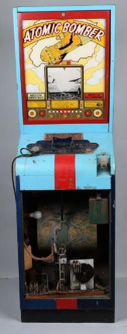 1946 5c ATOMIC BOMBER ARCADE MACHINE