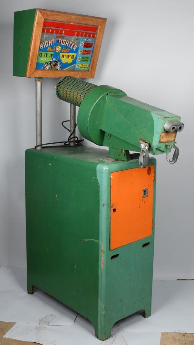 1953 5c NIGHT FIGHTER ARCADE MACHINE