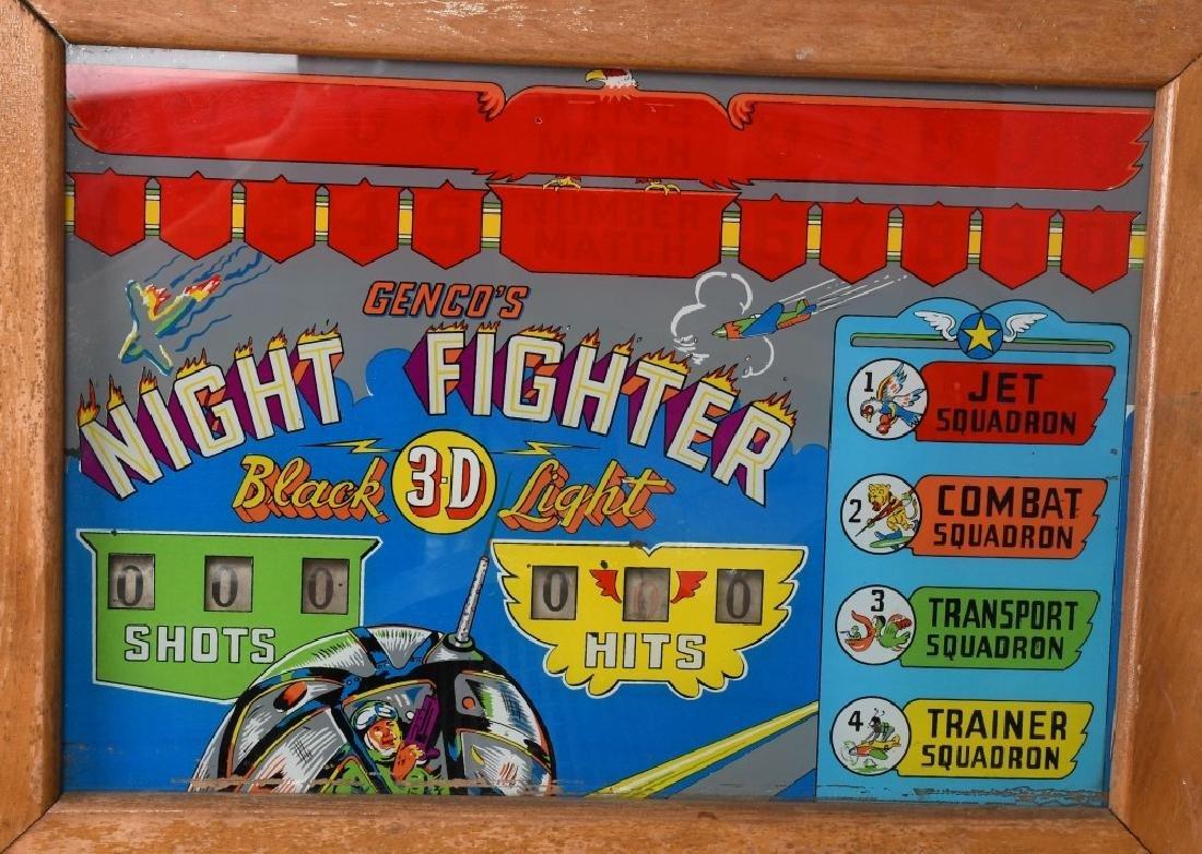 1953 5c NIGHT FIGHTER ARCADE MACHINE - 2