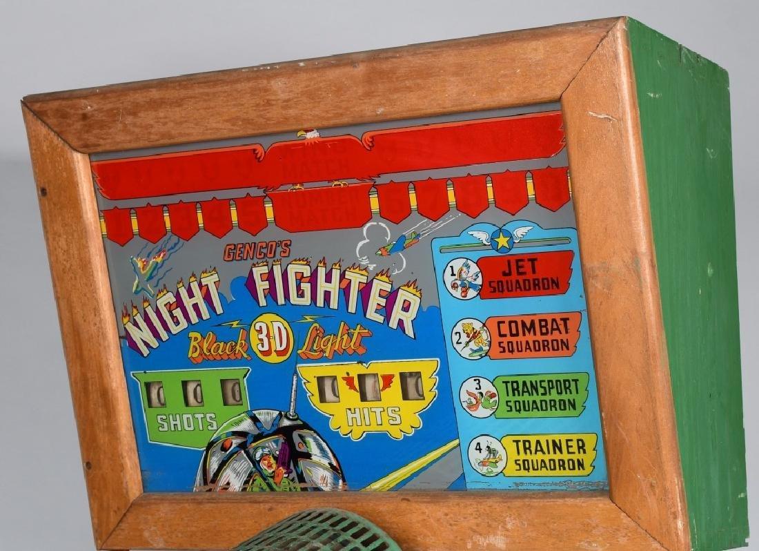 1953 5c NIGHT FIGHTER ARCADE MACHINE - 8