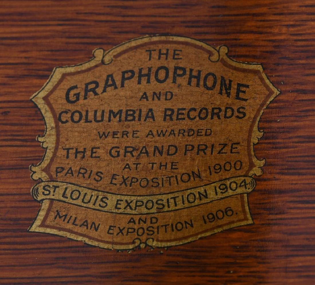 COLUMBIA GRAMOPHONE & 3 CYLINDERS - 5