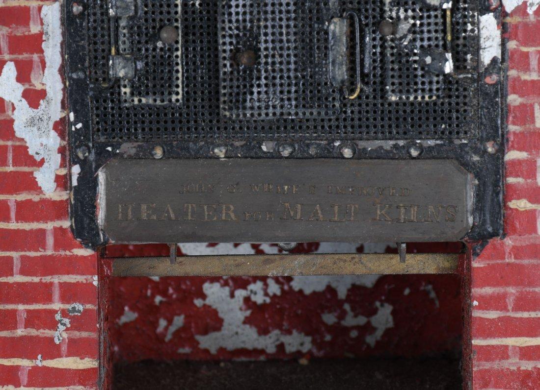 J. WHITE MALT KILN HEATER PATENT MODEL - 3