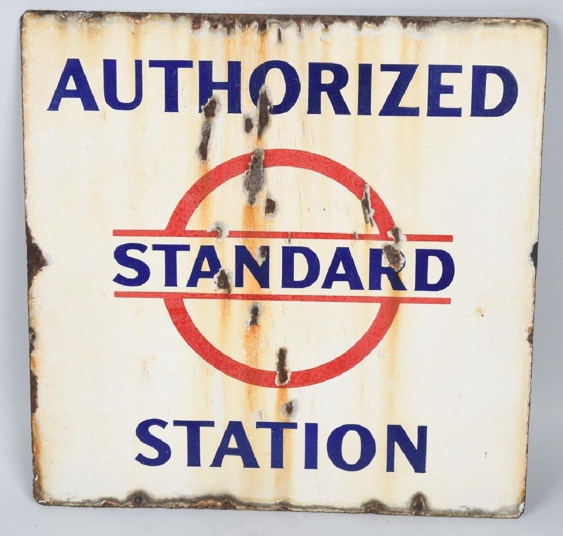 STANDARD AUTHORIZED STATION DS PORCELAIN SIGN - 2