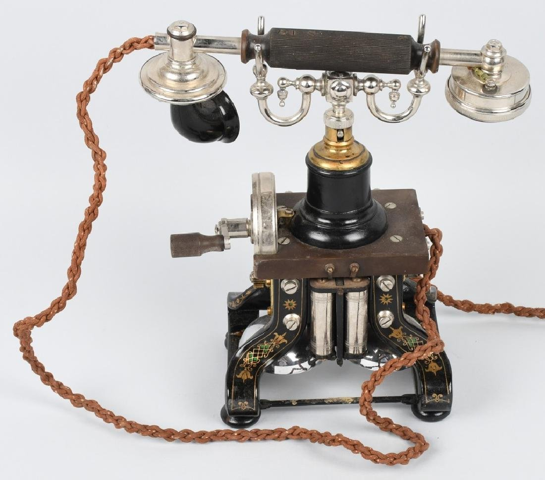 1892 L.M. ERICSSON SKELETON TELEPHONE