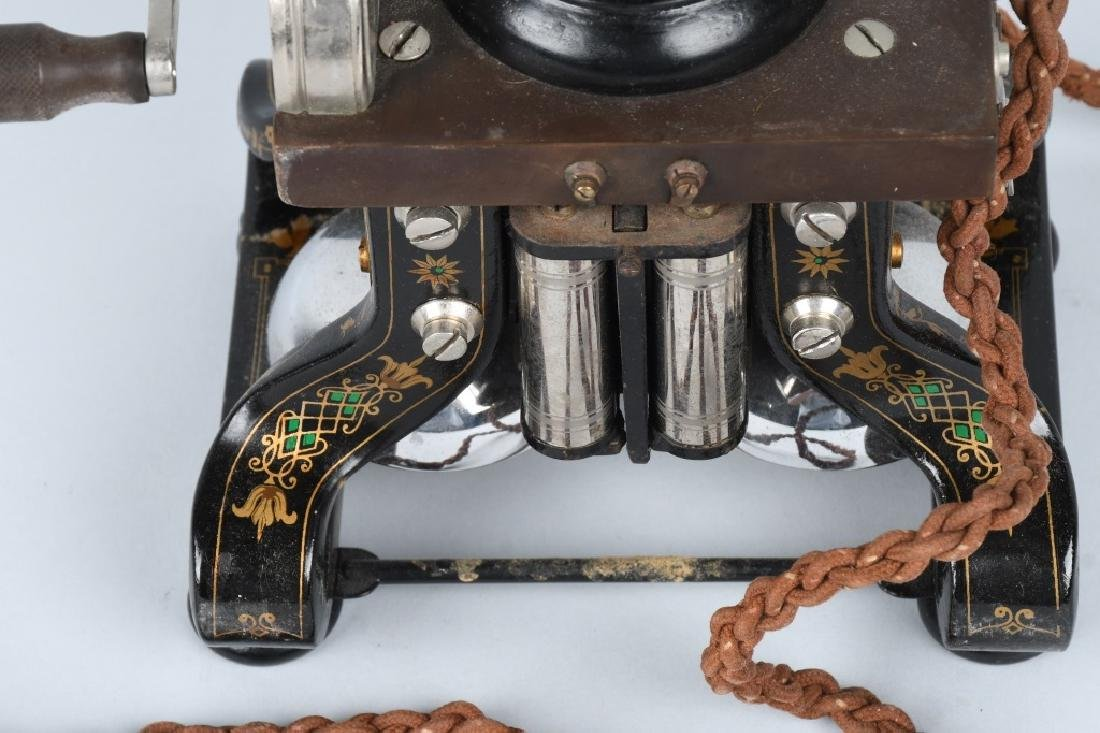 1892 L.M. ERICSSON SKELETON TELEPHONE - 2