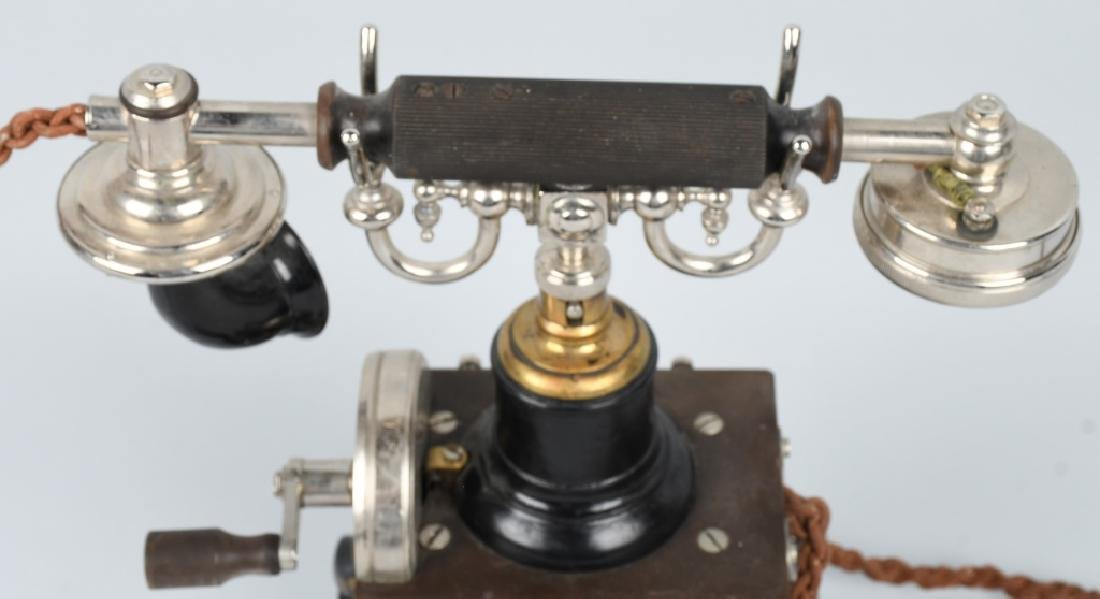 1892 L.M. ERICSSON SKELETON TELEPHONE - 3