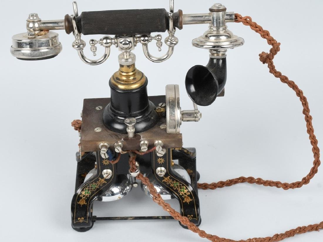 1892 L.M. ERICSSON SKELETON TELEPHONE - 4