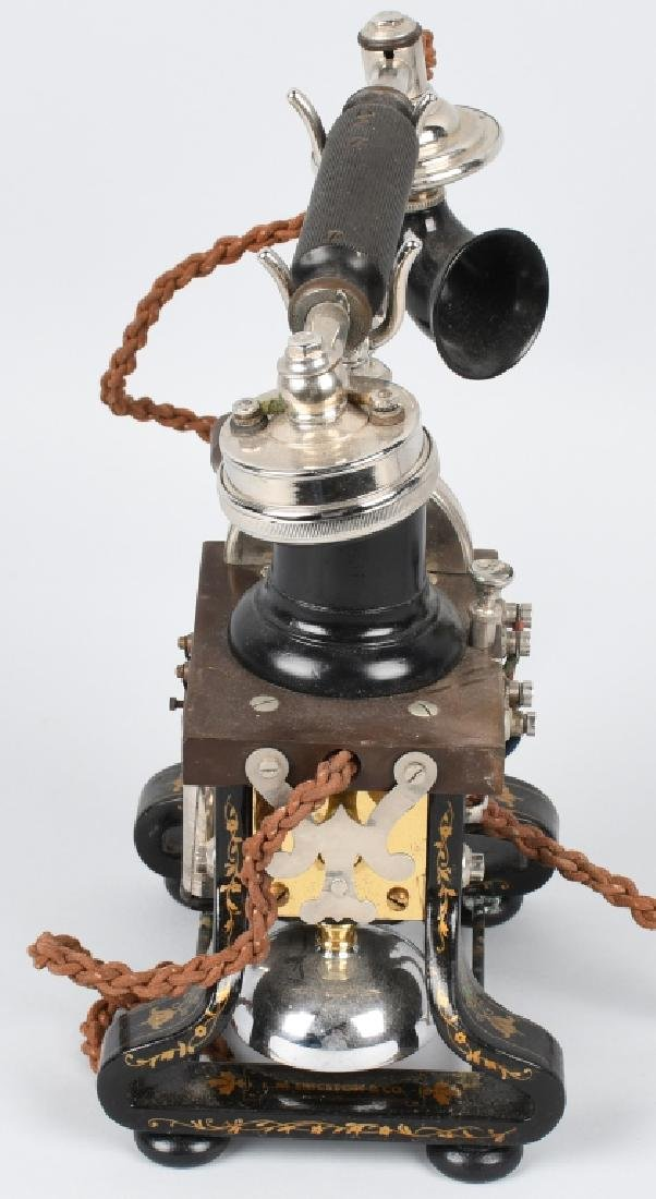 1892 L.M. ERICSSON SKELETON TELEPHONE - 6
