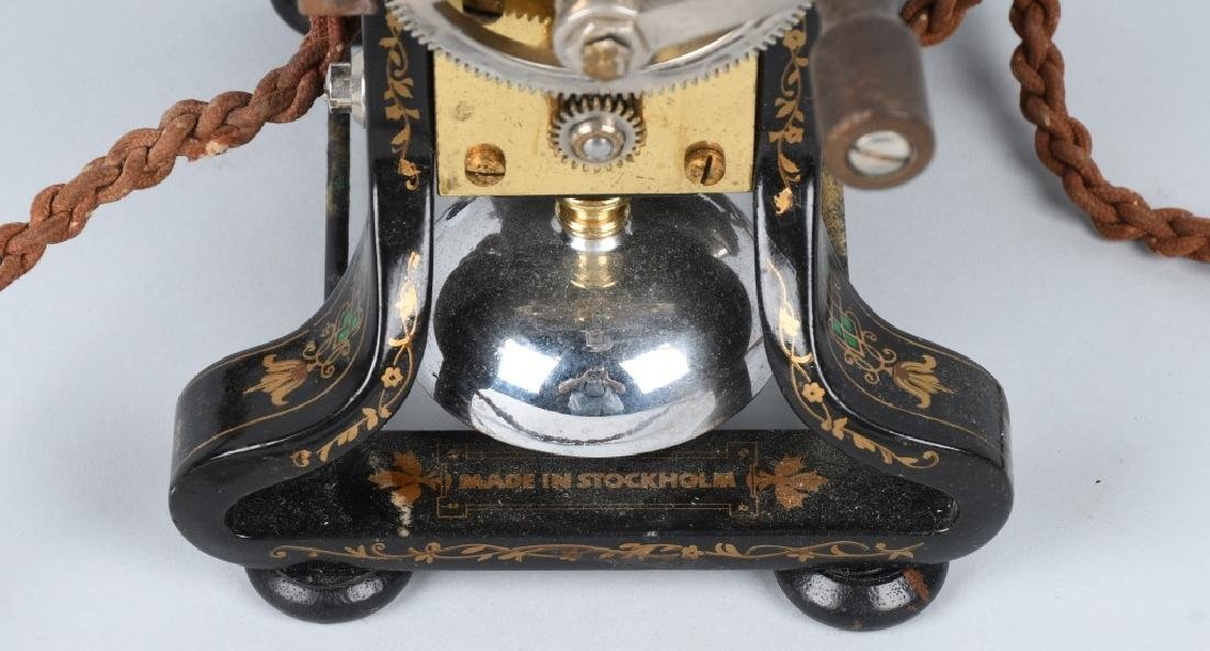 1892 L.M. ERICSSON SKELETON TELEPHONE - 8