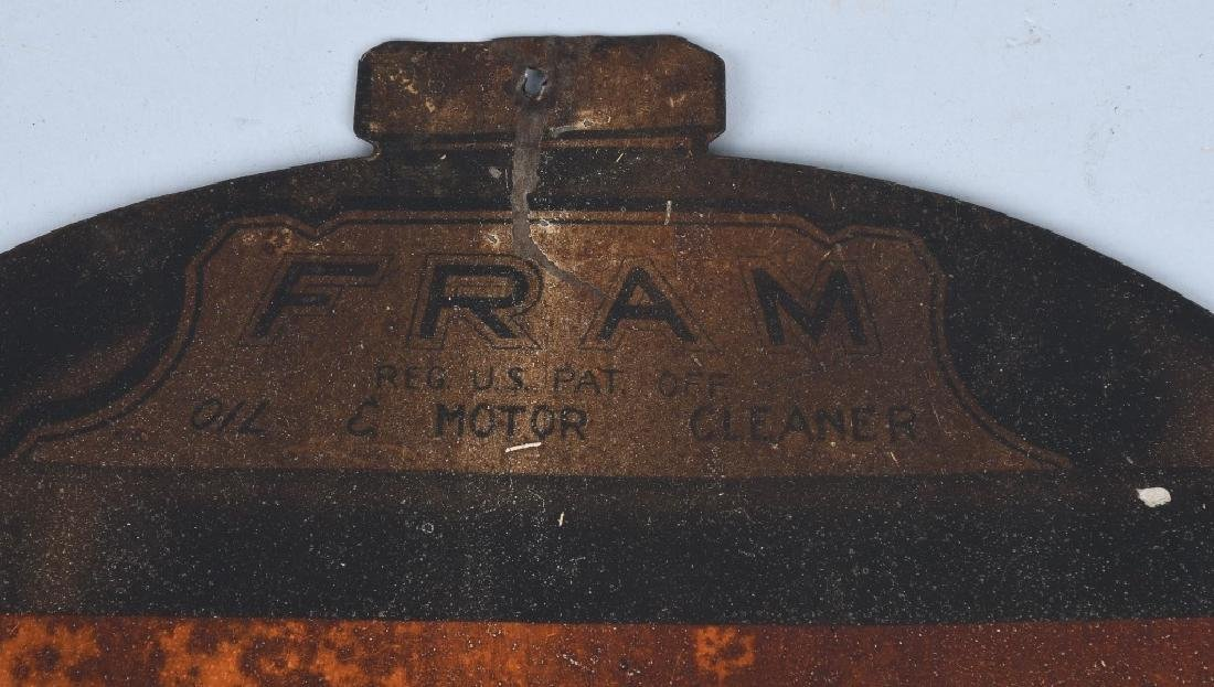 EARLY FRAME MOTOR OIL CLEANER SIGN - 3