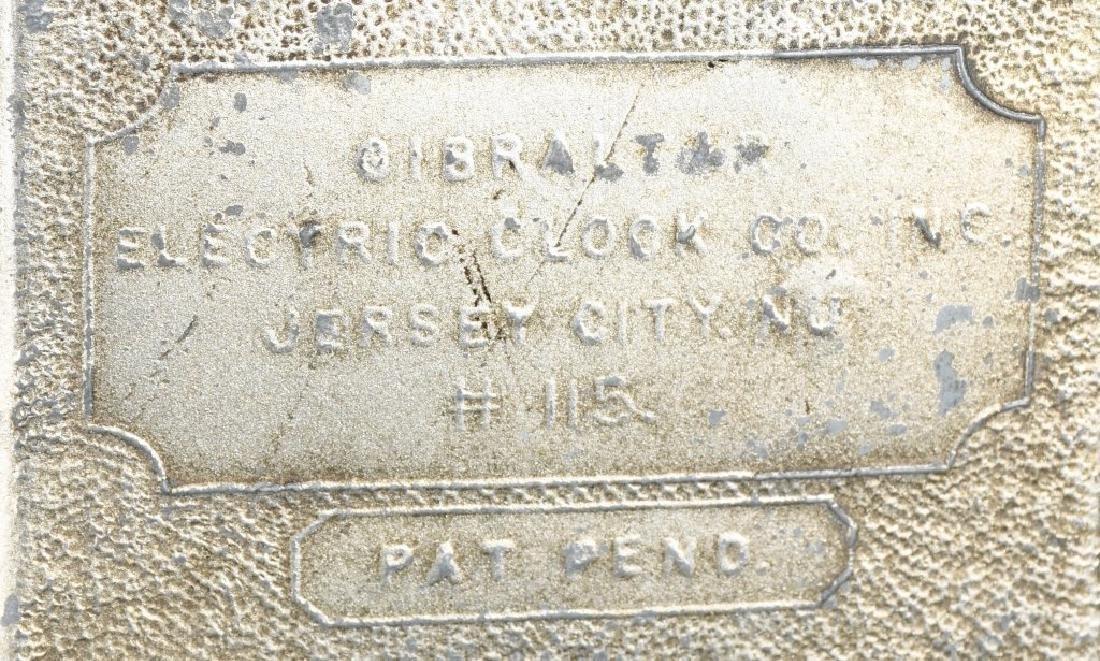 1930s GIBRALTAR ROOSEVELT NEW DEAL CLOCK - 5
