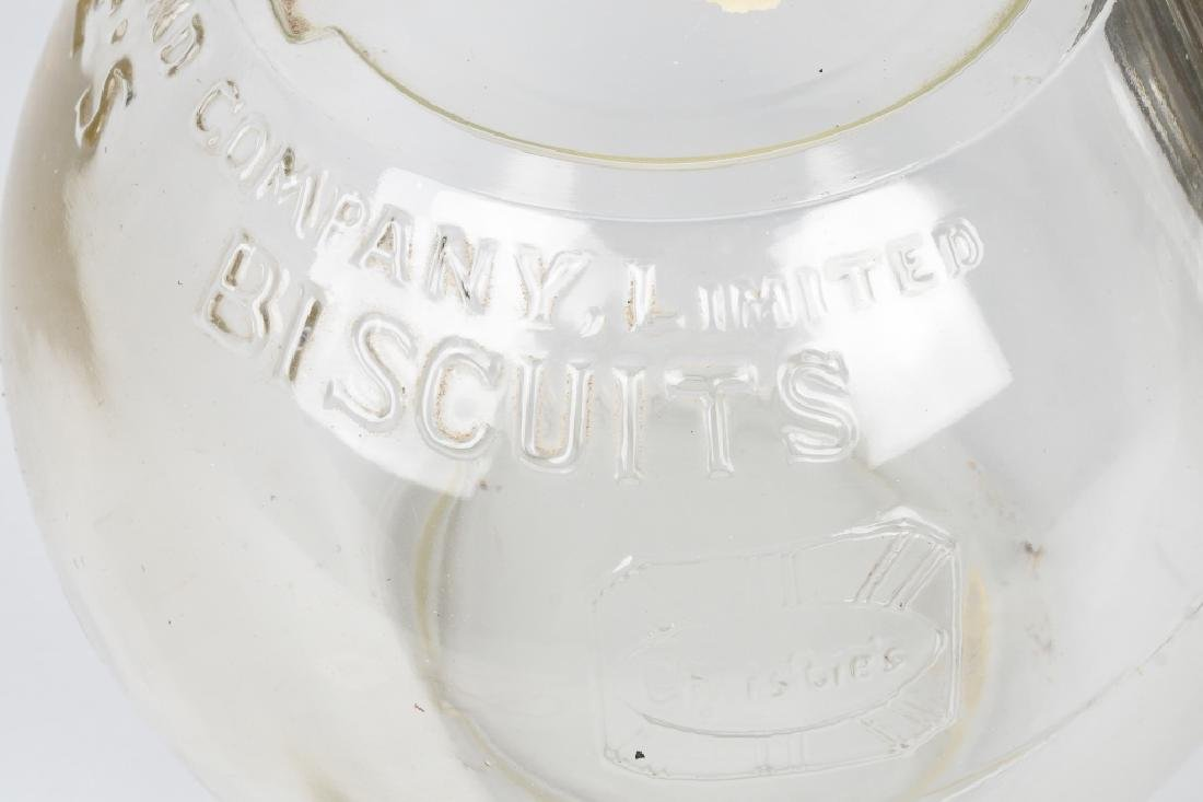 CHRISTIE'S BUSCUITS DOUBLE STORE DISPLAY JAR - 5