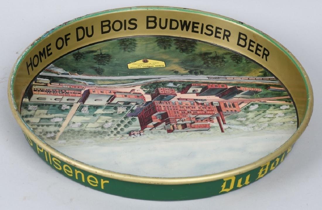 Du BOIS BUDWEISER BEER SERVING TRAY - 4