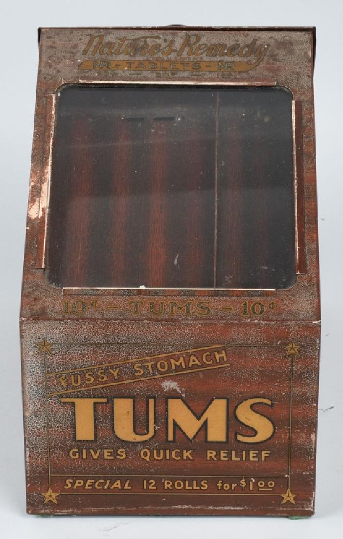 TUMS COUNTER DISPLAY CABINET