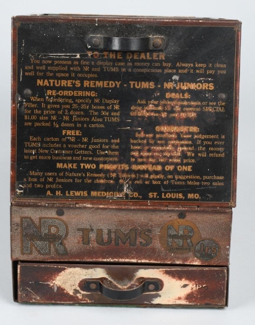 TUMS COUNTER DISPLAY CABINET - 4