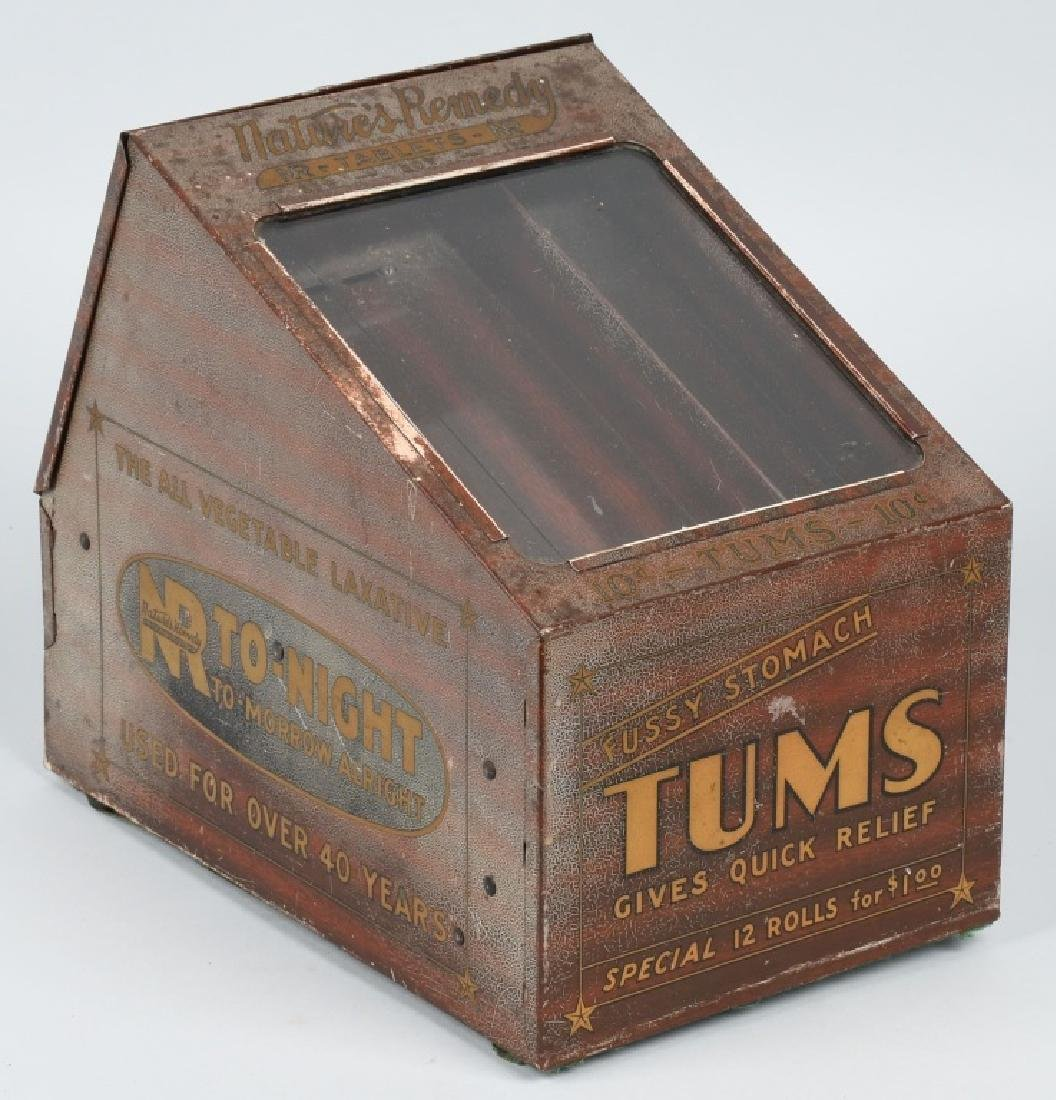 TUMS COUNTER DISPLAY CABINET - 5