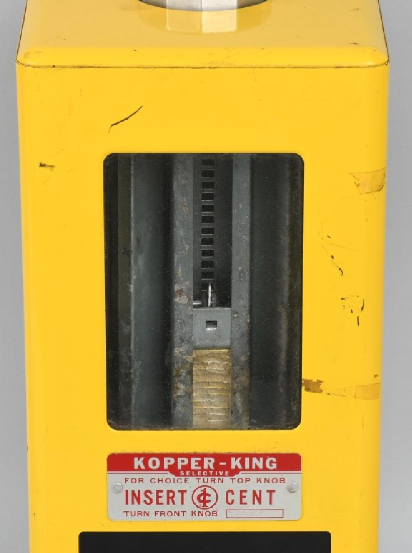 1c KOPPER KING GUMBALL VENDING MACHINE - 2