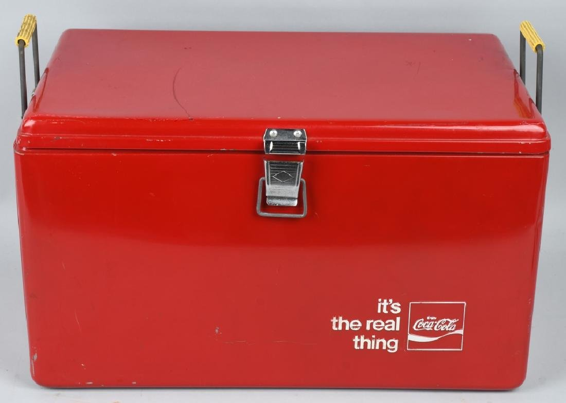 """COCA COLA """"ITS THE REAL THING"""" COOLER"""