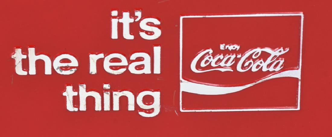 """COCA COLA """"ITS THE REAL THING"""" COOLER - 2"""