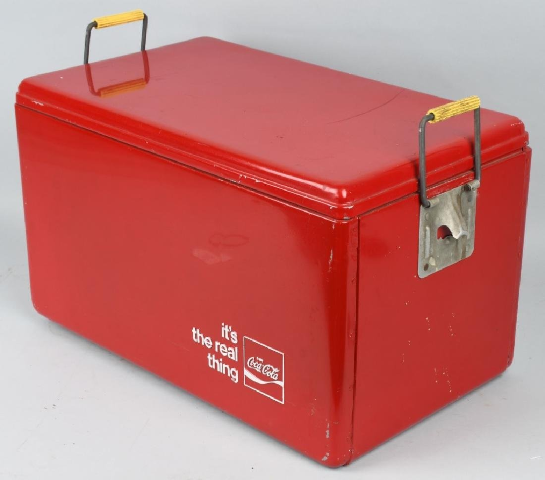 """COCA COLA """"ITS THE REAL THING"""" COOLER - 4"""