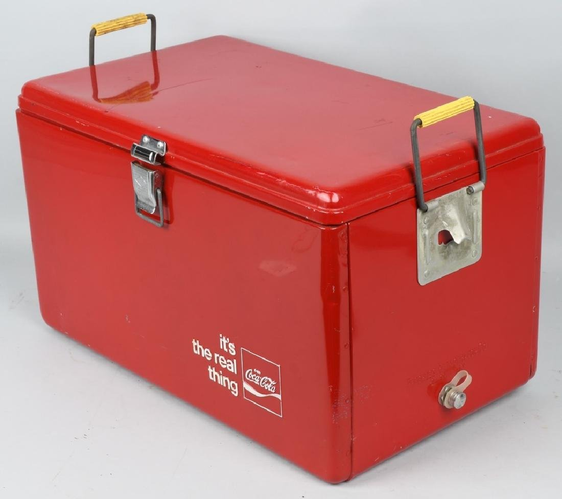 """COCA COLA """"ITS THE REAL THING"""" COOLER - 5"""