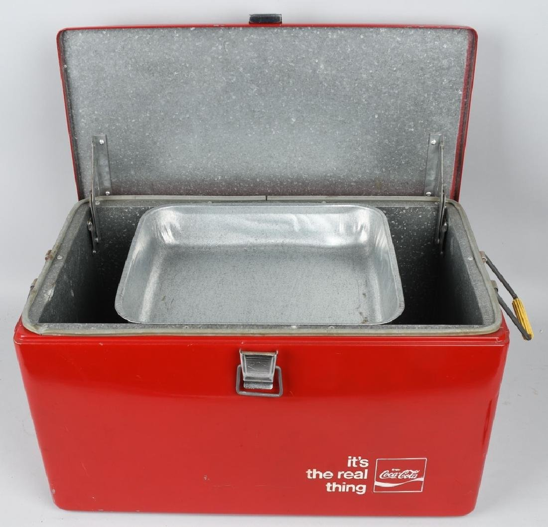 """COCA COLA """"ITS THE REAL THING"""" COOLER - 6"""