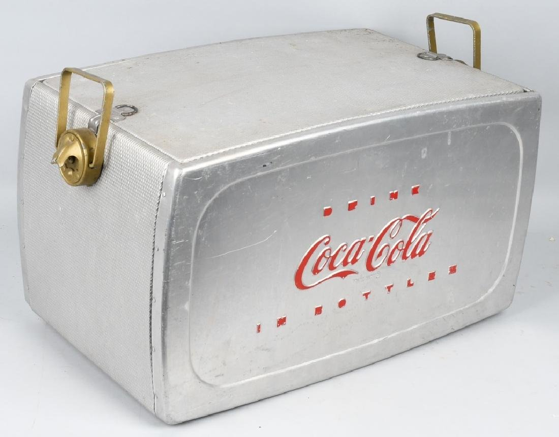 "COCA COLA ""DRINK IN BOTTLES"" COOLER - 4"