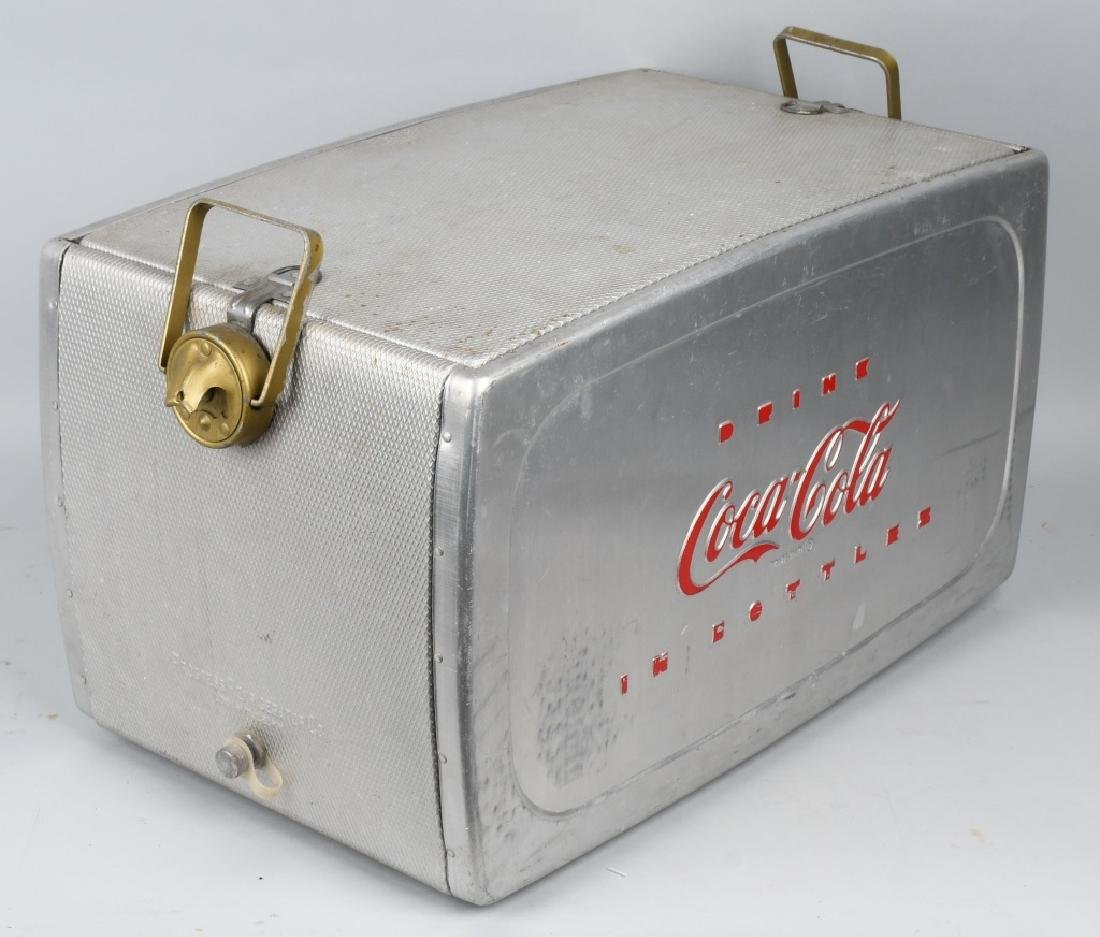 "COCA COLA ""DRINK IN BOTTLES"" COOLER - 5"