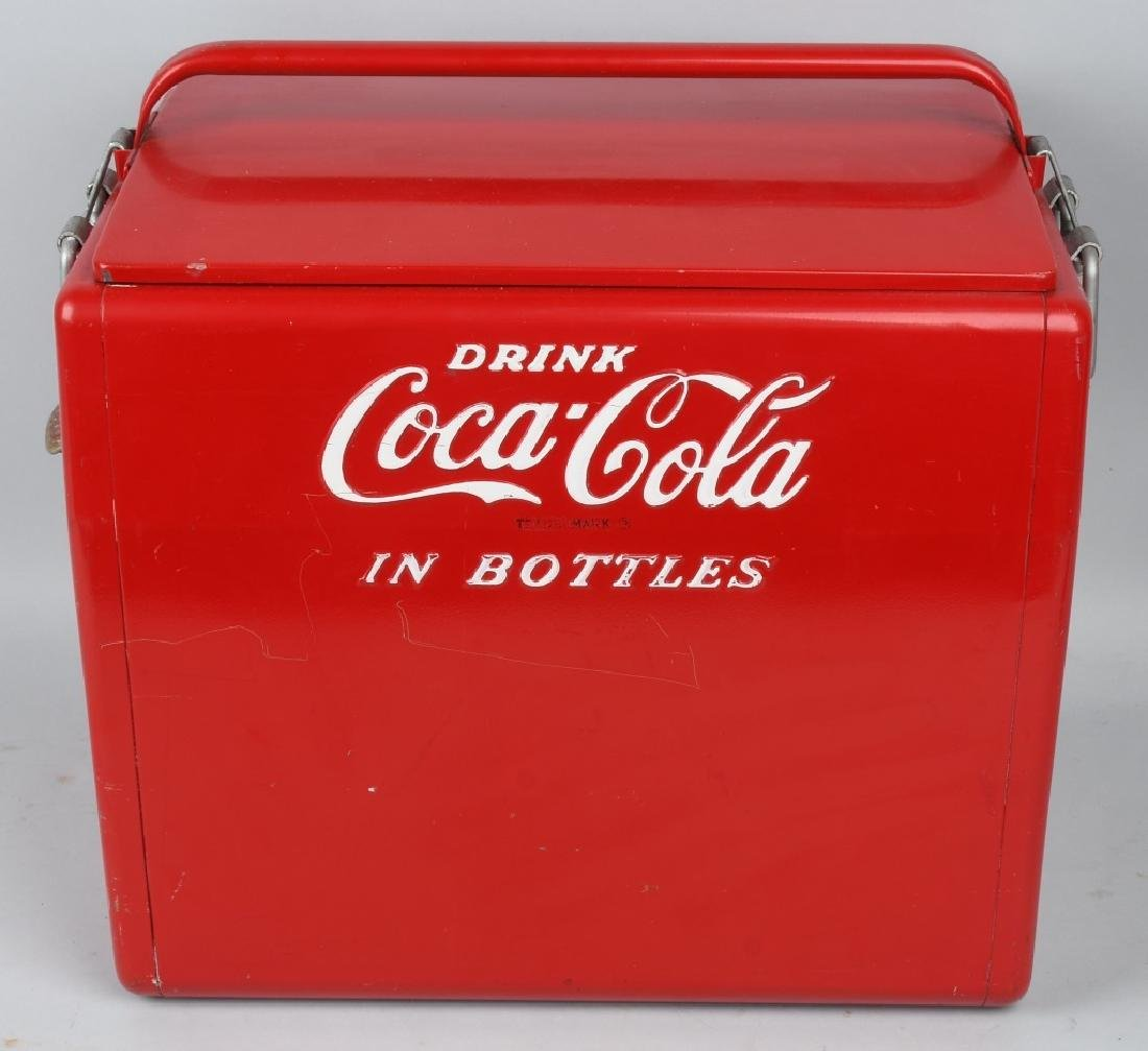 "COCA COLA ""DRINK IN BOTTLES"" COOLER"