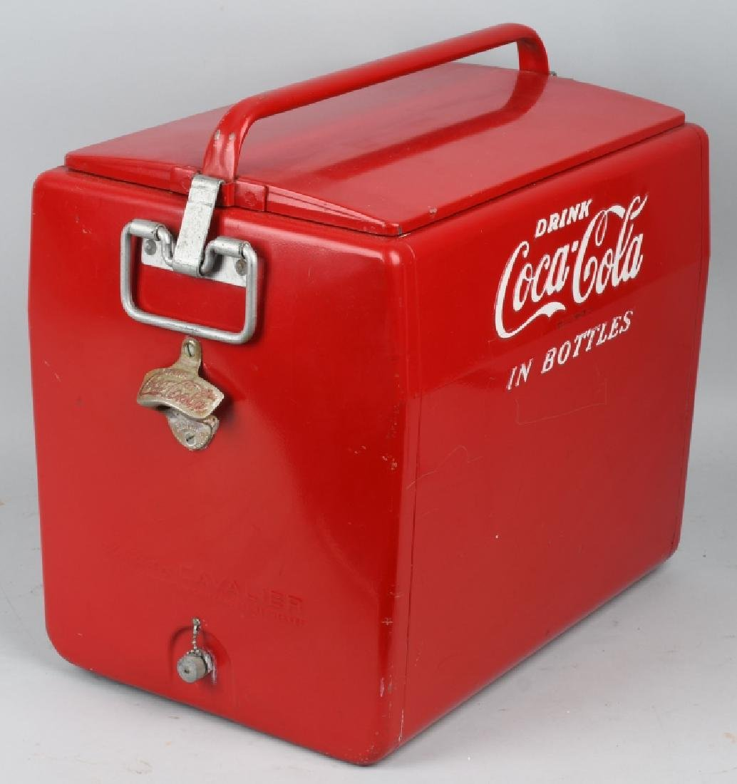 "COCA COLA ""DRINK IN BOTTLES"" COOLER - 2"